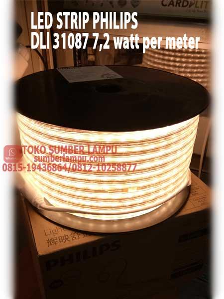 Jual Led Strip Philips Dli 31087 7 2 Watt Per Meter Sumberlampu Com