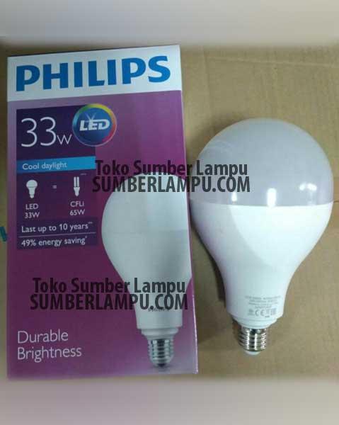 Jeune Lampu Philips LED 40 watt Bulb Jumbo   sumberlampu.com YN-29