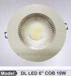 lampu LED ceiling 10 watt