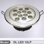 lampu LED ceiling 12 watt