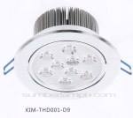 Lampu downlight LED THD001-D9