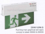Lampu Emergency EXIT MAXSPID ZSR