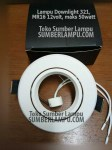 Fixture Lampu Downlight MARC 321 MR16 50watt
