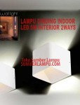 Lampu Dinding Indoor 5watt Warmwhite