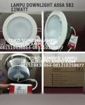 Lampu ASSA 582 12watt Warmwhite Downlight LED