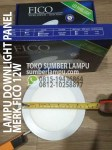lampu-downlight-panel-fico-12w-sumber-lampu