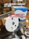 lampu emergency downlight led