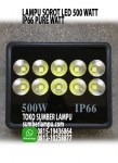 lampu floodlight led 500 watt