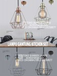 lampu gantung kitchen set