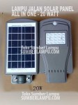Lampu Jalan Solar 20 watt All in one