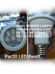 lampu led par20 8 watt