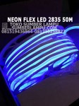 neon flex led 2835 warna biru