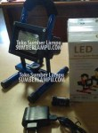 Lampu Sorot Emergency LED SMD 10watt Biru