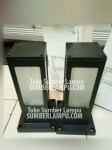 Lampu Taman Pilar Minimalis Outdoor Fitting E27
