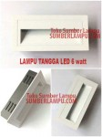 Lampu tangga LED 6 watt White dan Grey