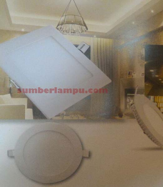 Lampu LED Panel Kotak & Bulat 6w, 12w, 18w & 24w